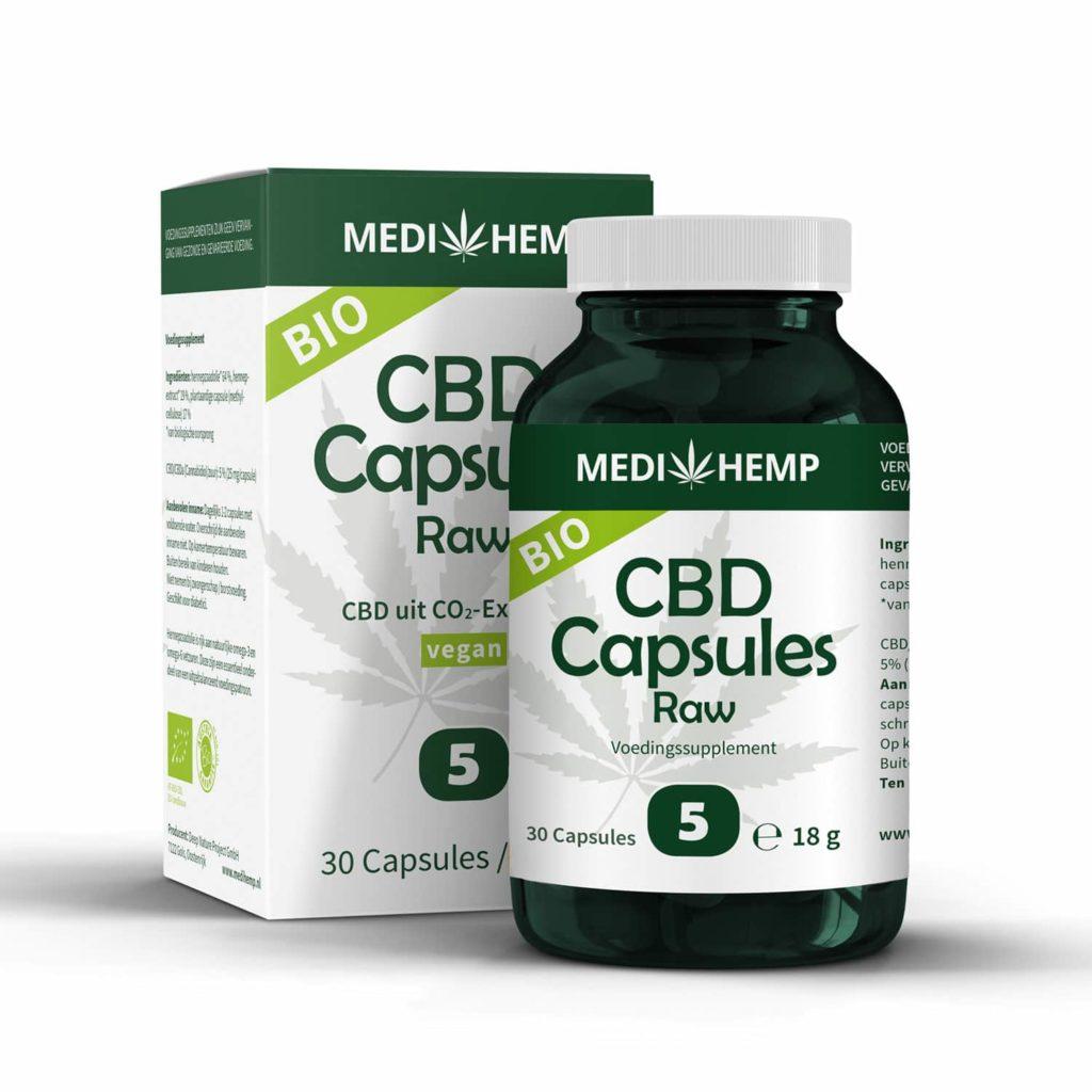 Medihemp CBD Capsules 5% (25mg)