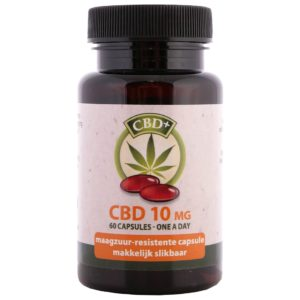 Product image of Jacob Hooy CBD Capsules (60 pcs - 10mg)