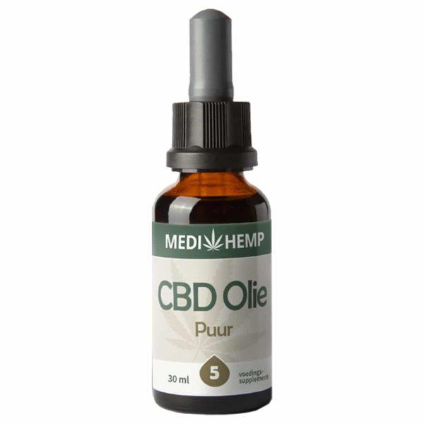 Product image of Medihemp CBD Oil Pure 5% (30ml)