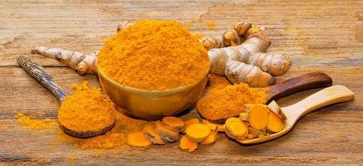 Indiase geelwortel bevat curcumine