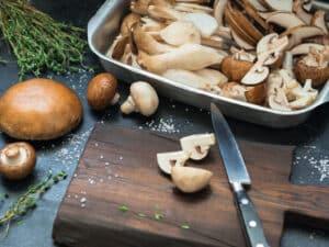 Mushrooms met hoge voedingswaarden
