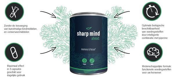 Voedingsstoffen voor hersenen van Ahead
