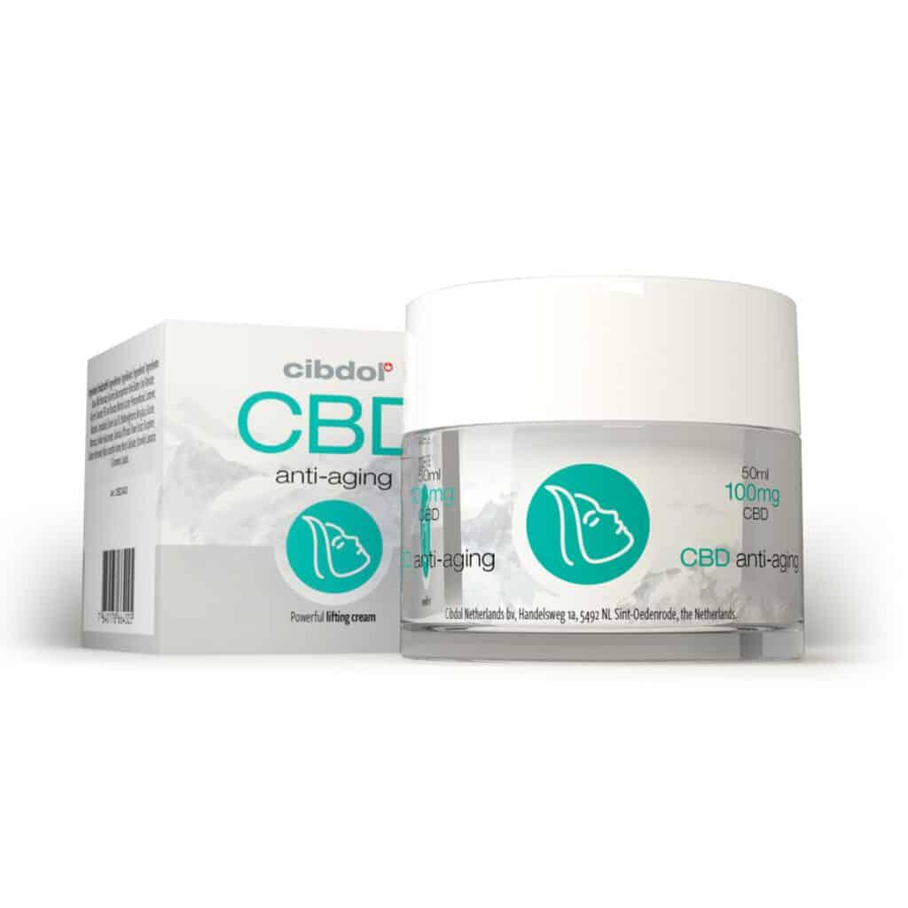 Anti-age crème met cannabidiol
