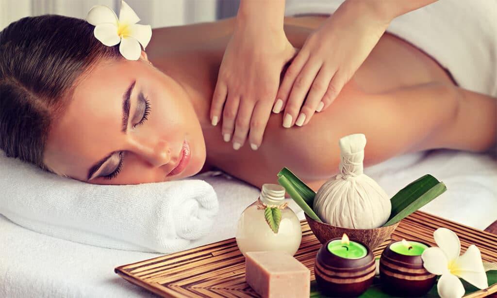 Lichaamsmassage voor huidverjonging