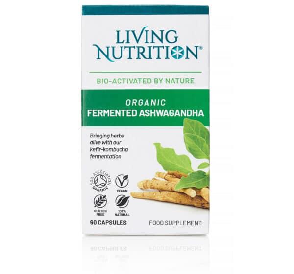Gefermenteerd biologisch supplement met ashwagangha