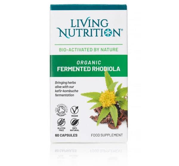 Gefermenteerd biologisch supplement met rhodiola