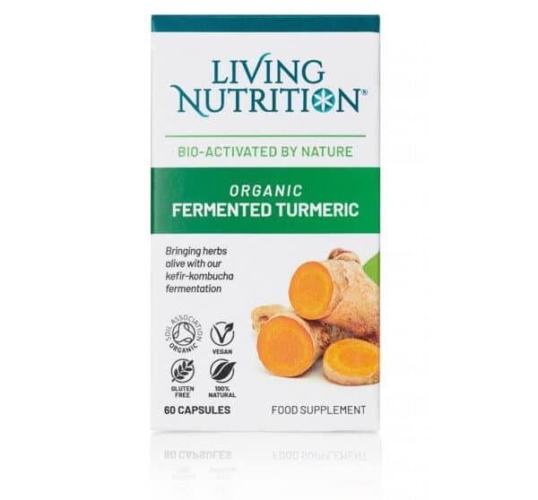 Gefermenteerd biologisch supplement met kurkuma
